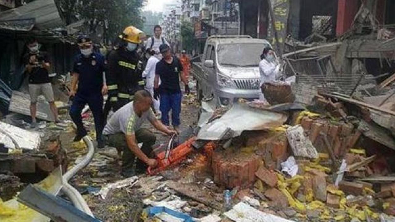 Explosión en zona residencial de China cobra la vida de 12 personas