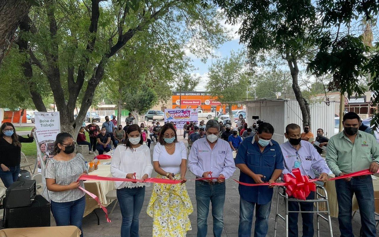 Realizan jornadas de trabajo 'Aquí Hay Chamba' en Nava y Morelos