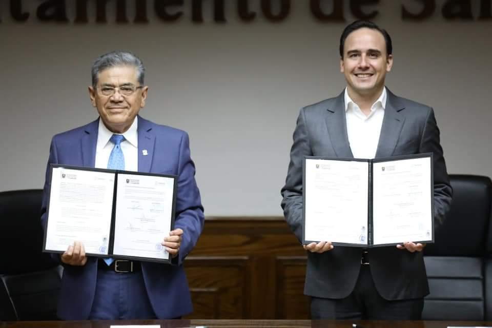 Municipio y la UAdeC suman esfuerzos en pro del medio ambiente