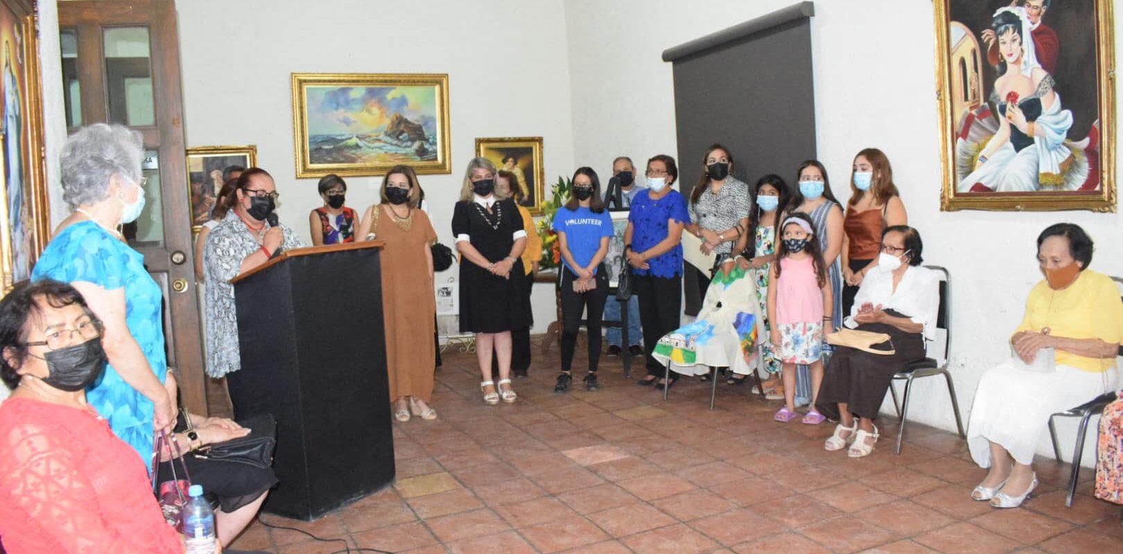 Con exposición de sus pinturas; San Buenaventura rinde homenaje al Arq. Óscar Falcón Sánchez