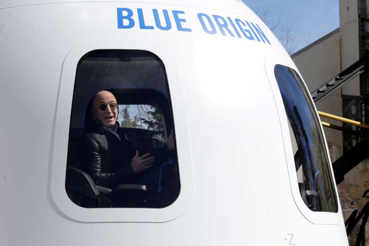 Turismo en el espacio; Jeff Bezos y sus acompañantes a la última frontera