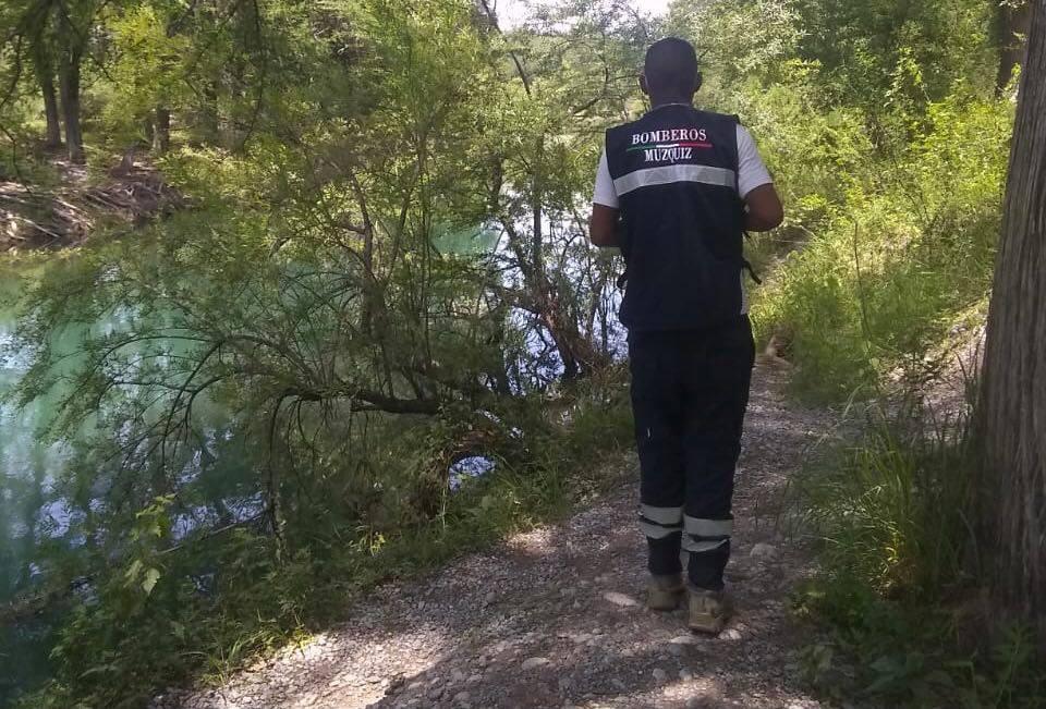 Personal de Protección Civil recorre río Sabinas