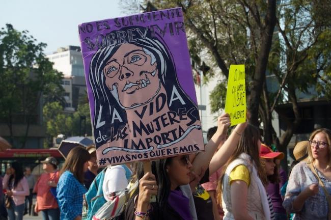 Los feminicidios en México suben 3.3%