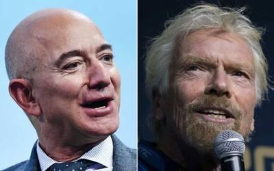 Guerra a las estrellas; la batalla entre Jeff Bezos y Richard Branson