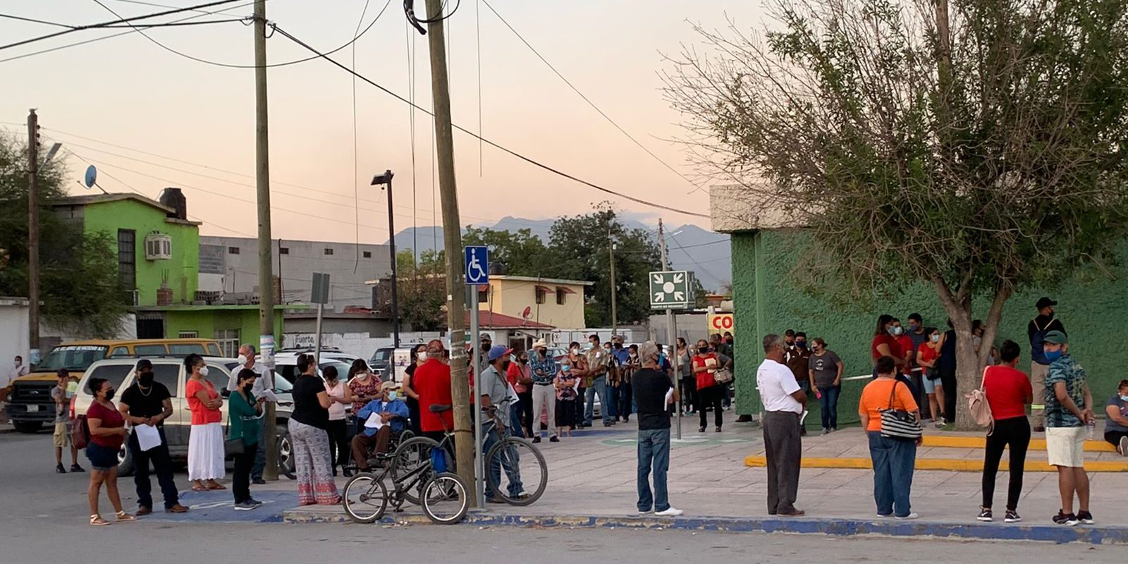 Continúa IMSS con protocolos sanitarios en clínica 9 de Frontera