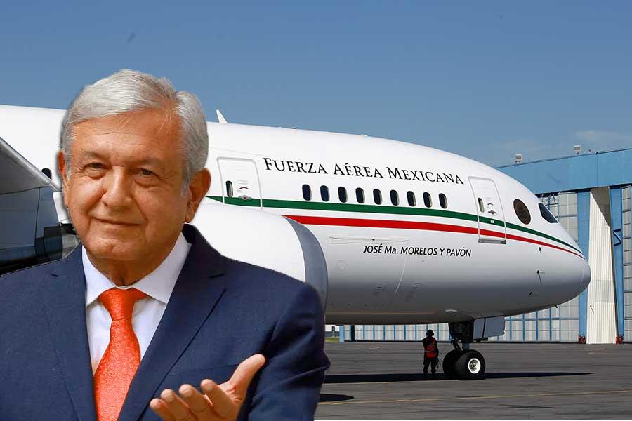 'Nos está costando trabajo venderlo': AMLO ofrece avión presidencial a Delta para fiestas