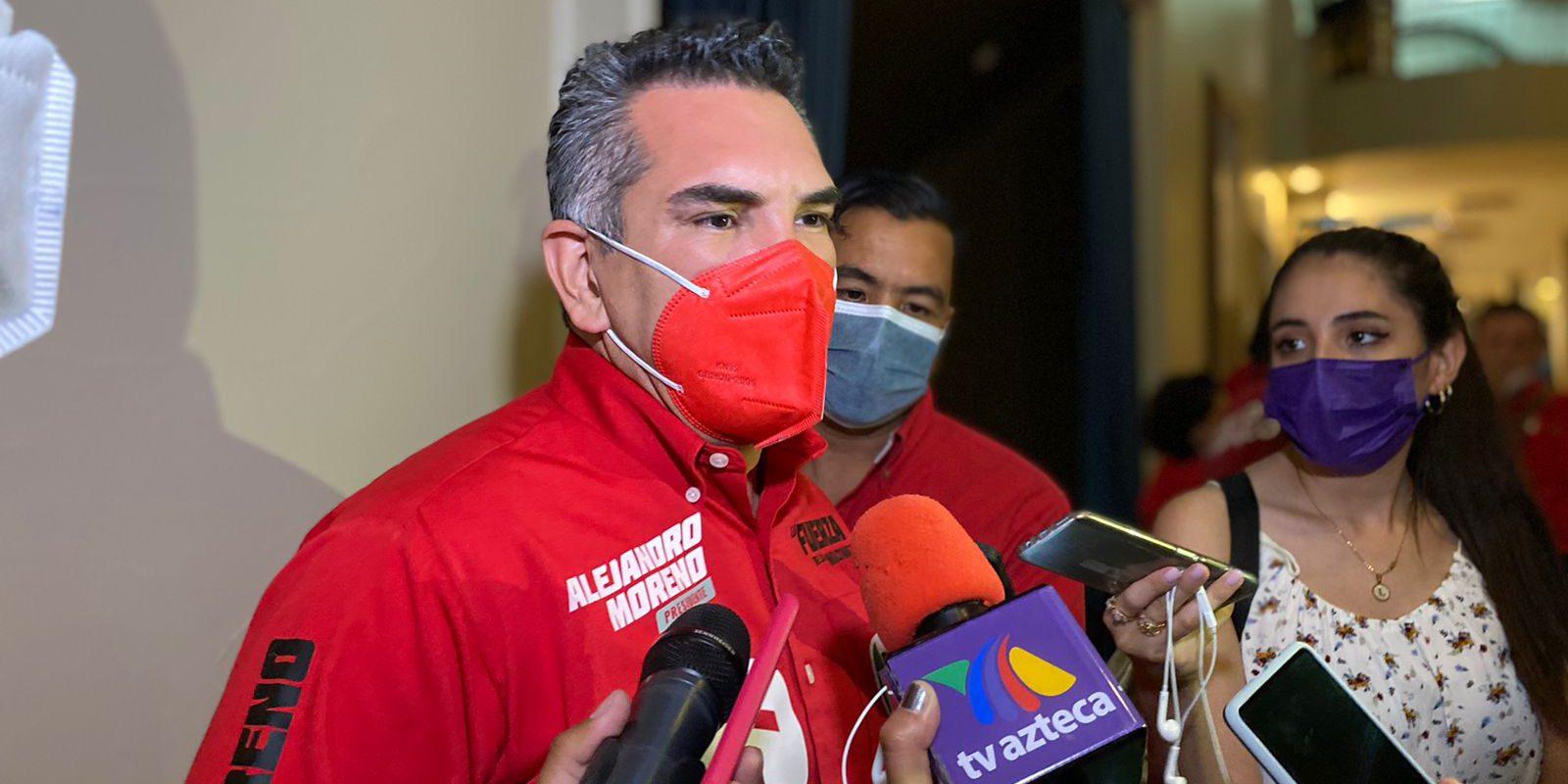 La ley se tiene que aplicar, no se tiene que consultar: Alejandro Moreno