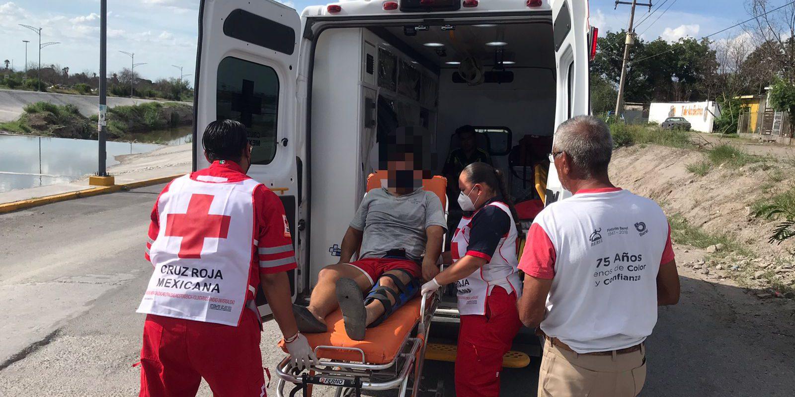 Policiaca: Atropella a motociclista, huye; pero es detenida en Monclova