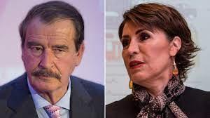 Eres un ejemplo, admiro tu honestidad, AMLO inventa 'verdades': Fox a Rosario Robles