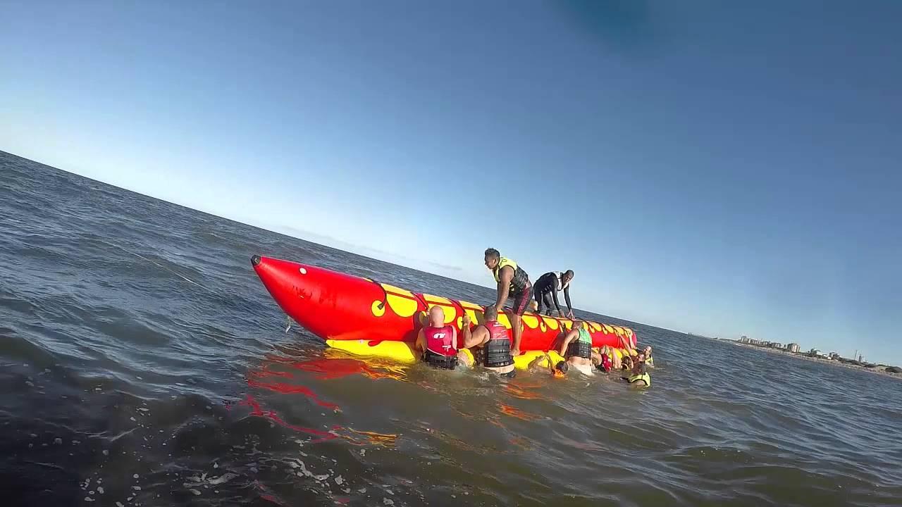 Policiaca: Jovencita de Coahuila se ahogó en playas de Mazatlán; se cayó de la banana