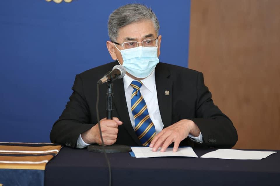 Rector de la UAdeC exhorta a alumnos a vacunarse