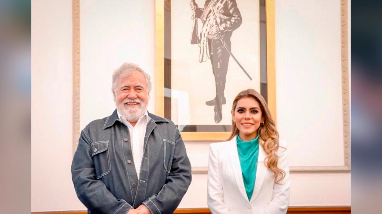 Democracia y derechos humanos serán mi prioridad; se reúne Evelyn Salgado con Alejandro Encinas
