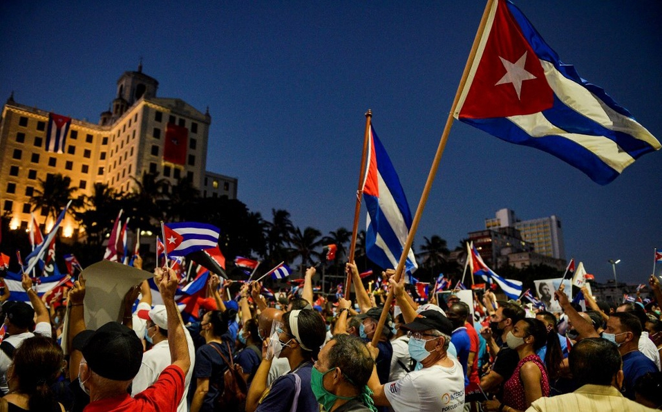 Más de 500 detenidos en protestas de Cuba