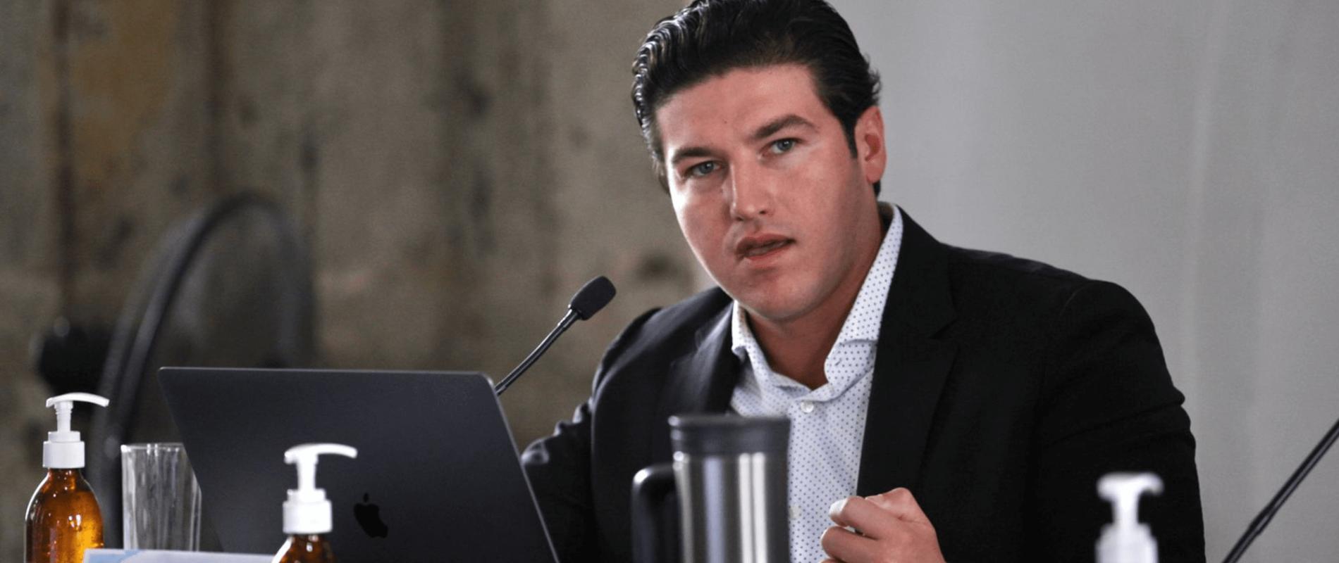 Samuel García se descarta como candidato presidencial en 2024
