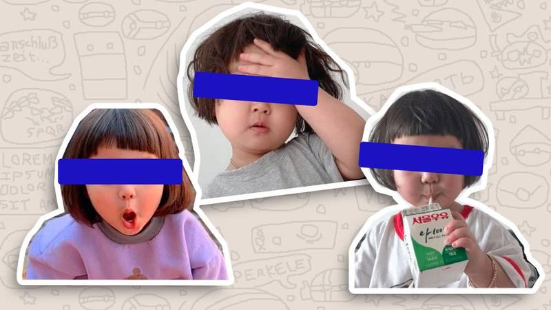 ¡Adiós a los stickers y memes de la niña coreana! Madre de la menor prepara una demanda