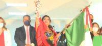 'Viva Claudia Sheinbaum, viva AMLO'; alcaldesa lanza arenga por la Cuarta Transformación