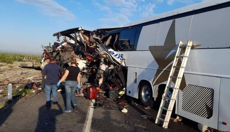 Accidente en carretera de Sonora provoca 16 muertos y 22 heridos