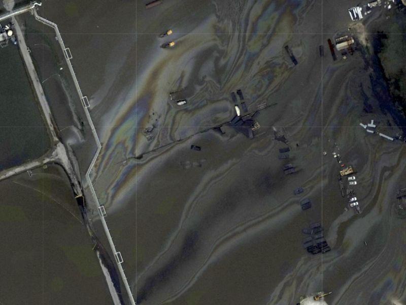 Identifican fuente de derrame petrolero en Golfo de México tras paso de 'Ida'