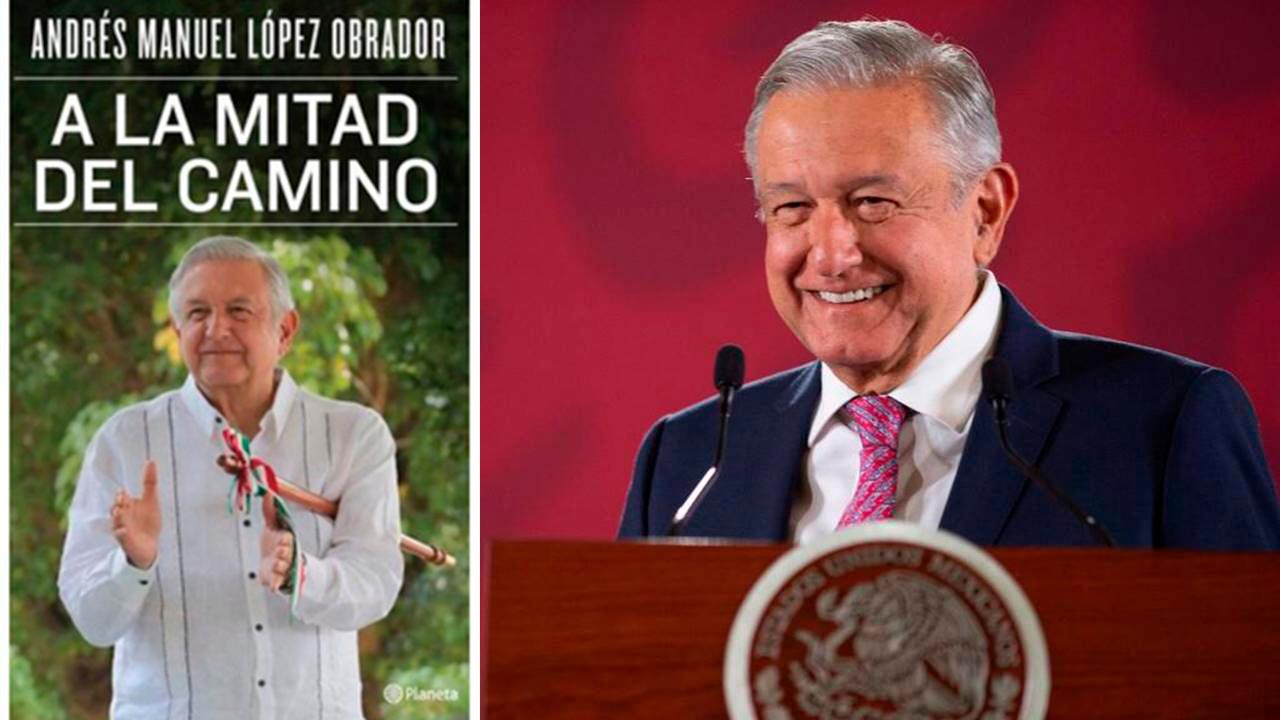 AMLO arrasa en Amazon; 'A la mitad del camino' entre los libros más vendidos
