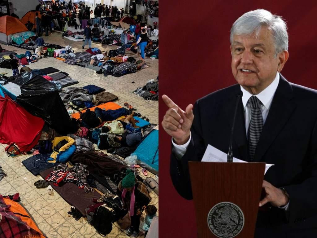 Ha bajado la migración mexicanos a EE.UU; 60% proviene de Honduras, Guatemala y El Salvador: AMLO