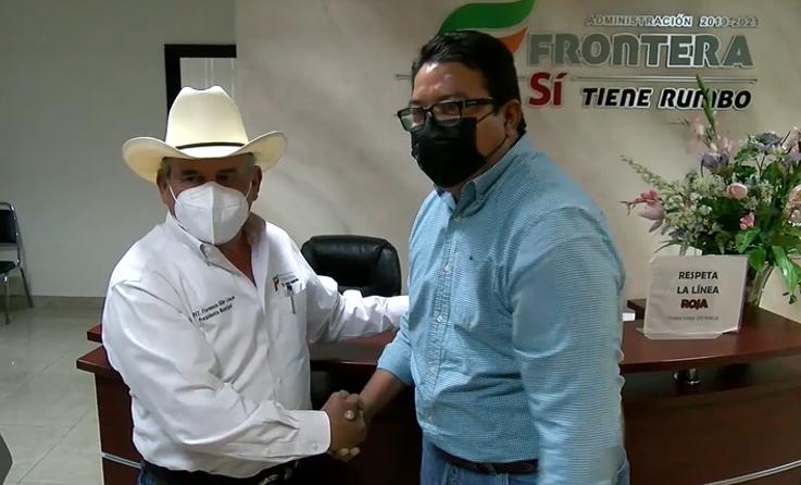 Alcaldes de Frontera se reúnen para dar continuidad a proyectos de infraestructura