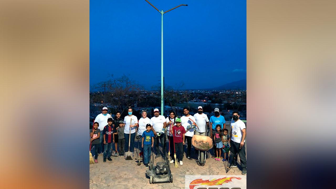 Que sepan que cuentan con nosotros: CROC hace limpieza en El Mirador de Frontera