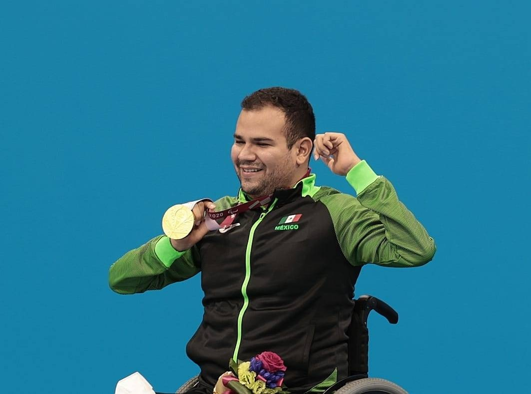 Sexto oro para México en Paralímpicos