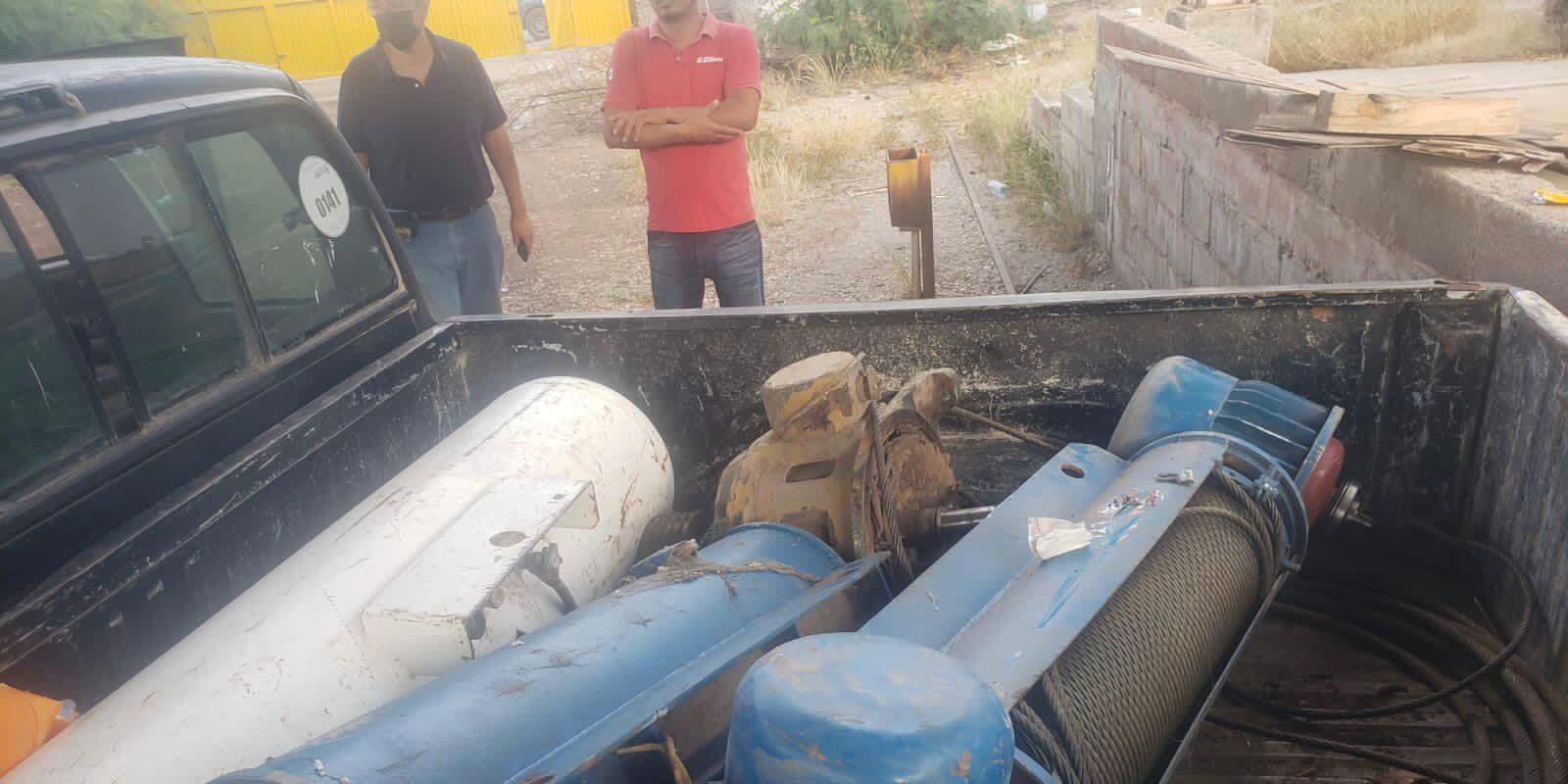 Policía Municipal de Monclova evita robo en taller, pero se les escapan los ladrones