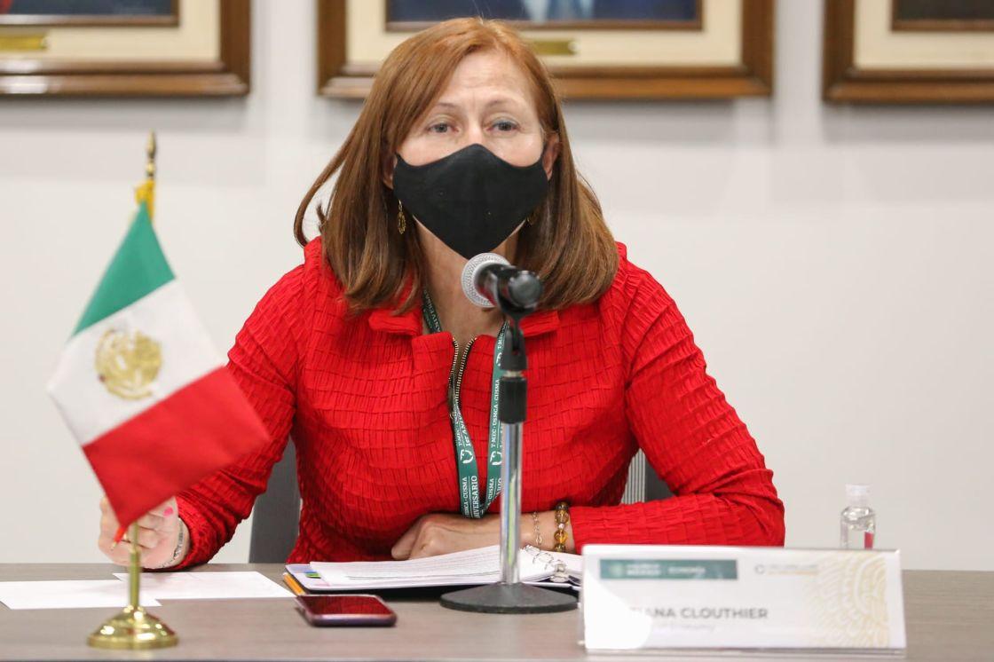 Se reúne Tatiana Clouthier con industriales de EE.UU.; acuerdan participación mayor inversión